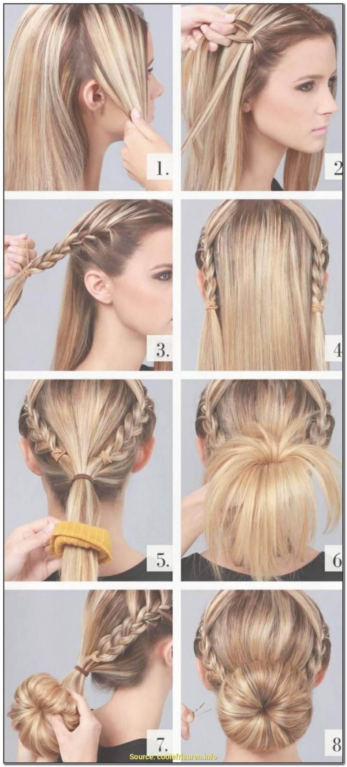 Einfache Frisuren FüR Glatte Lange Haare
