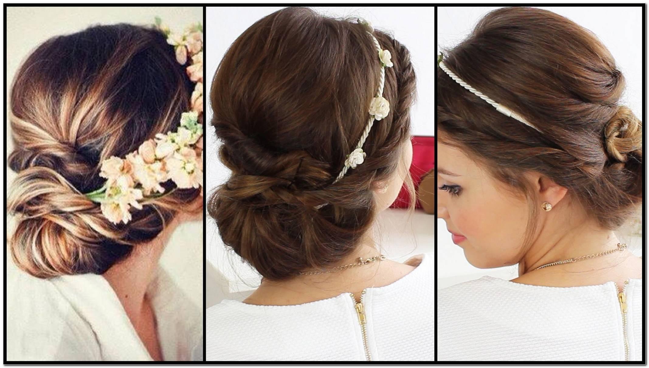 Einfache Frisuren FüR Hochzeit Lange Haare