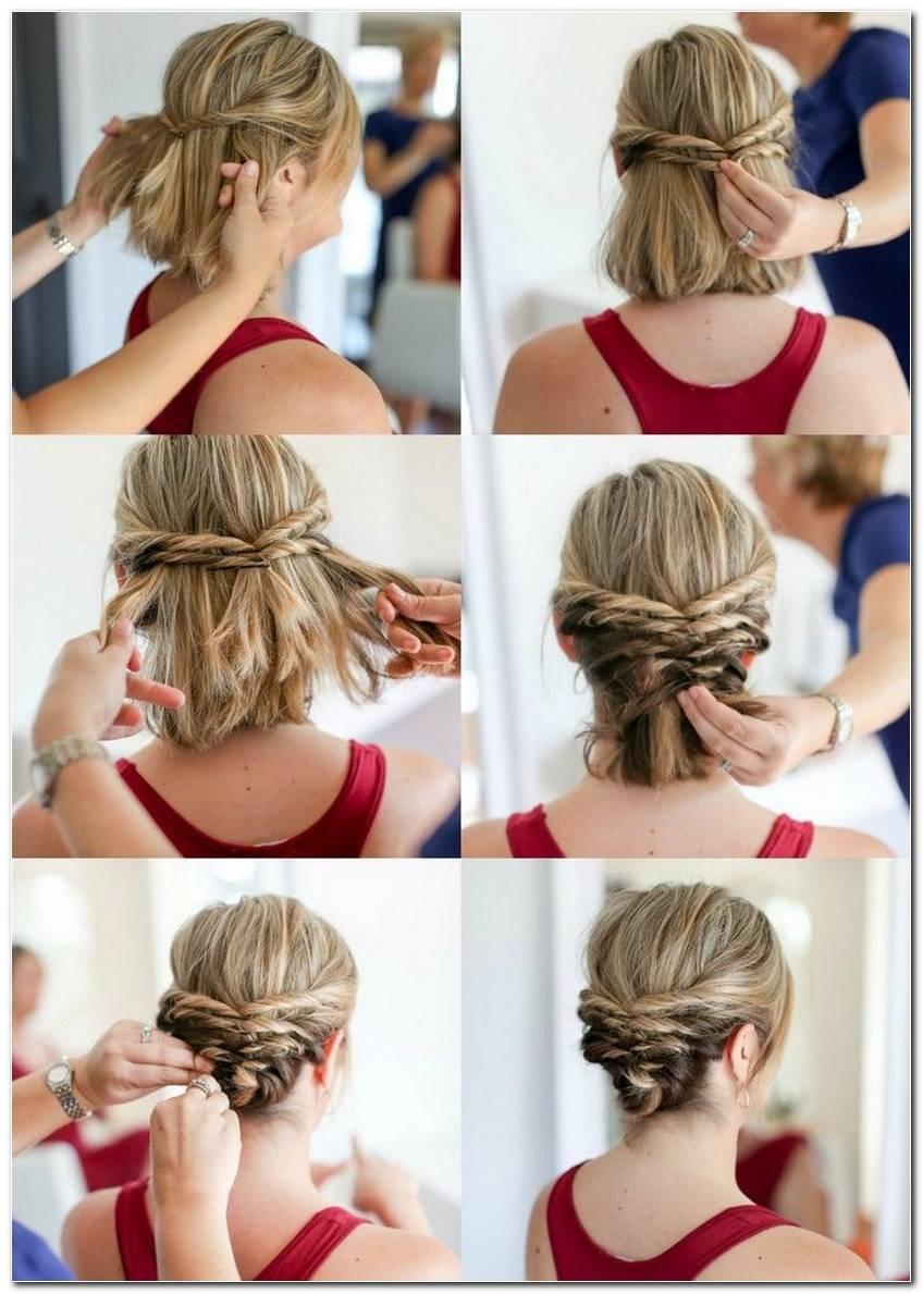 Einfache Frisuren FüR HochzeitsgäSte Kurze Haare