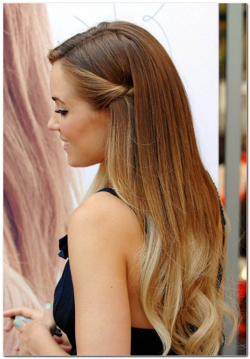 Einfache Frisuren FüR Lange Glatte Haare