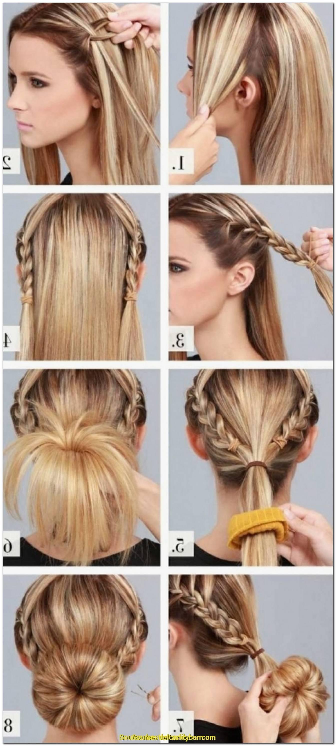 Einfache Frisuren FüR Lange Haare Selber Machen