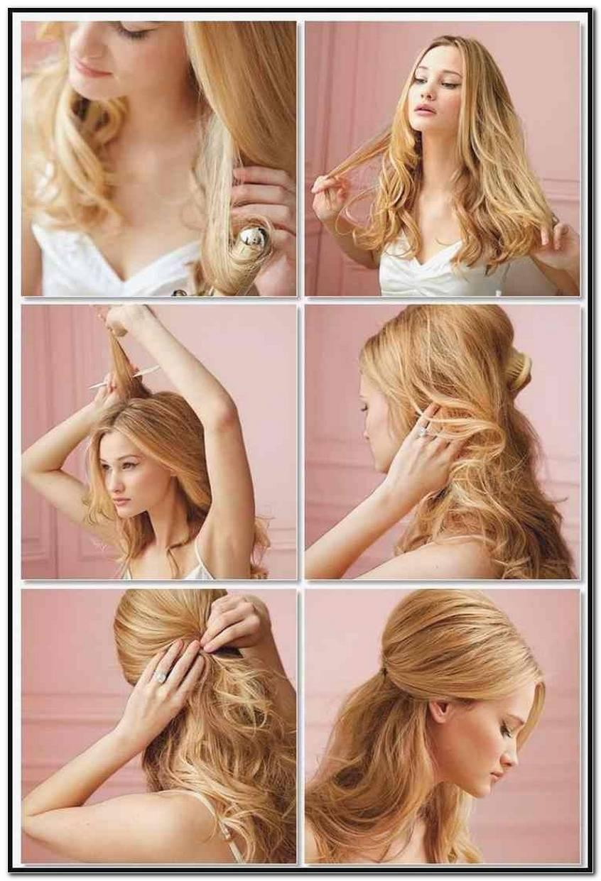 Einfache Frisuren F%C3%BCR Mittellanges Haar Locken