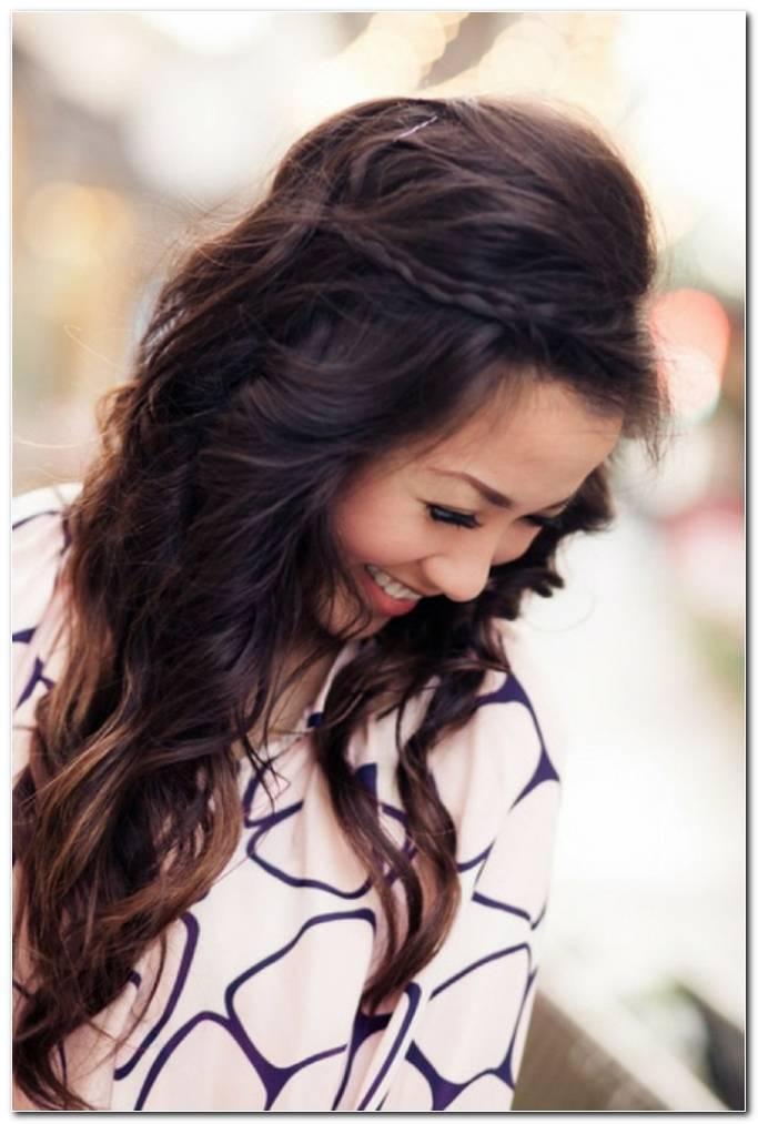 Einfache Frisuren FüR Sehr Lange Haare