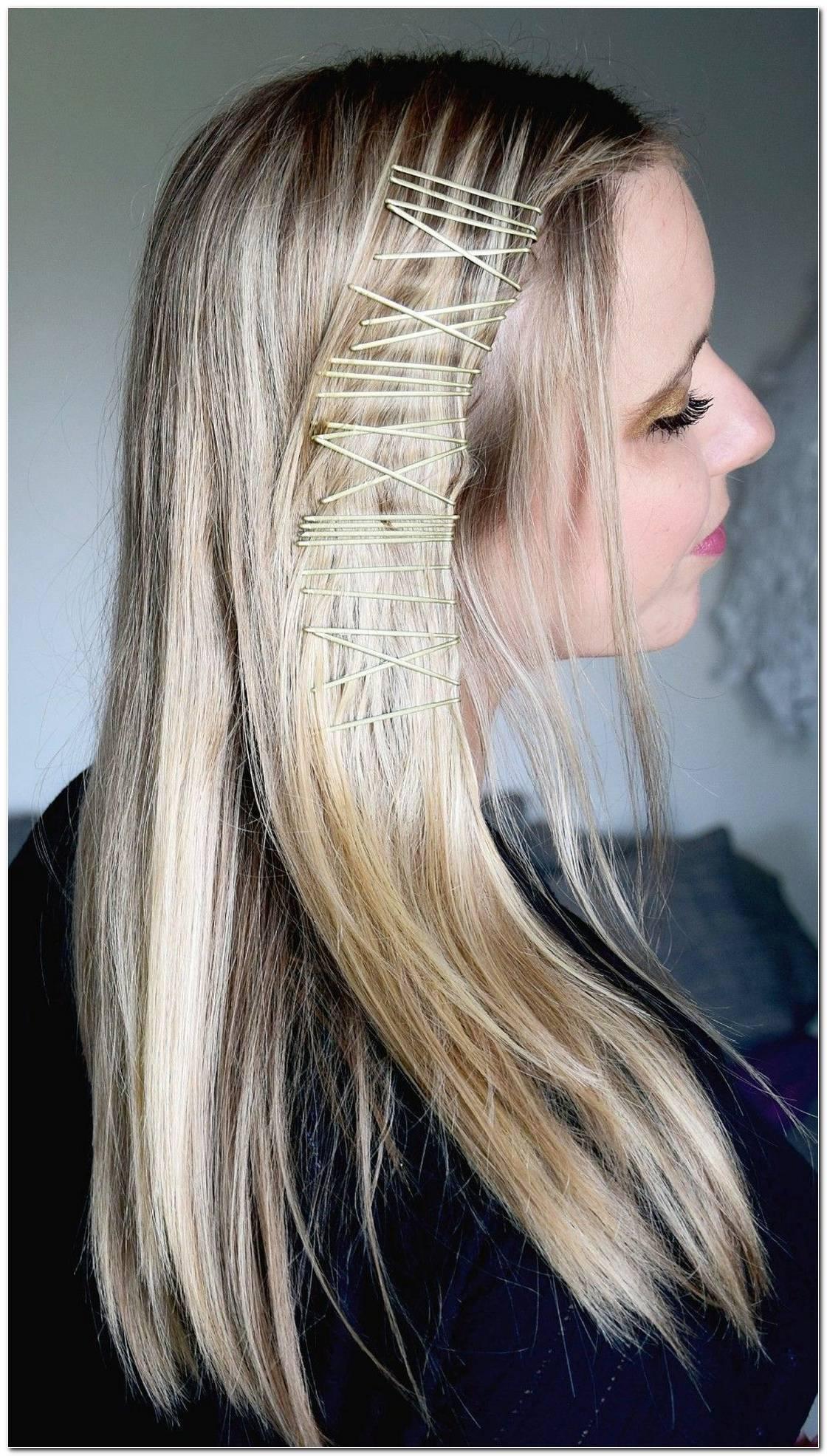 Einfache Frisuren Haarklammern