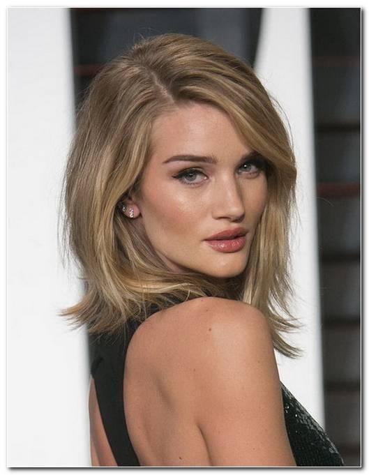 Einfache Frisuren Halblange Haare