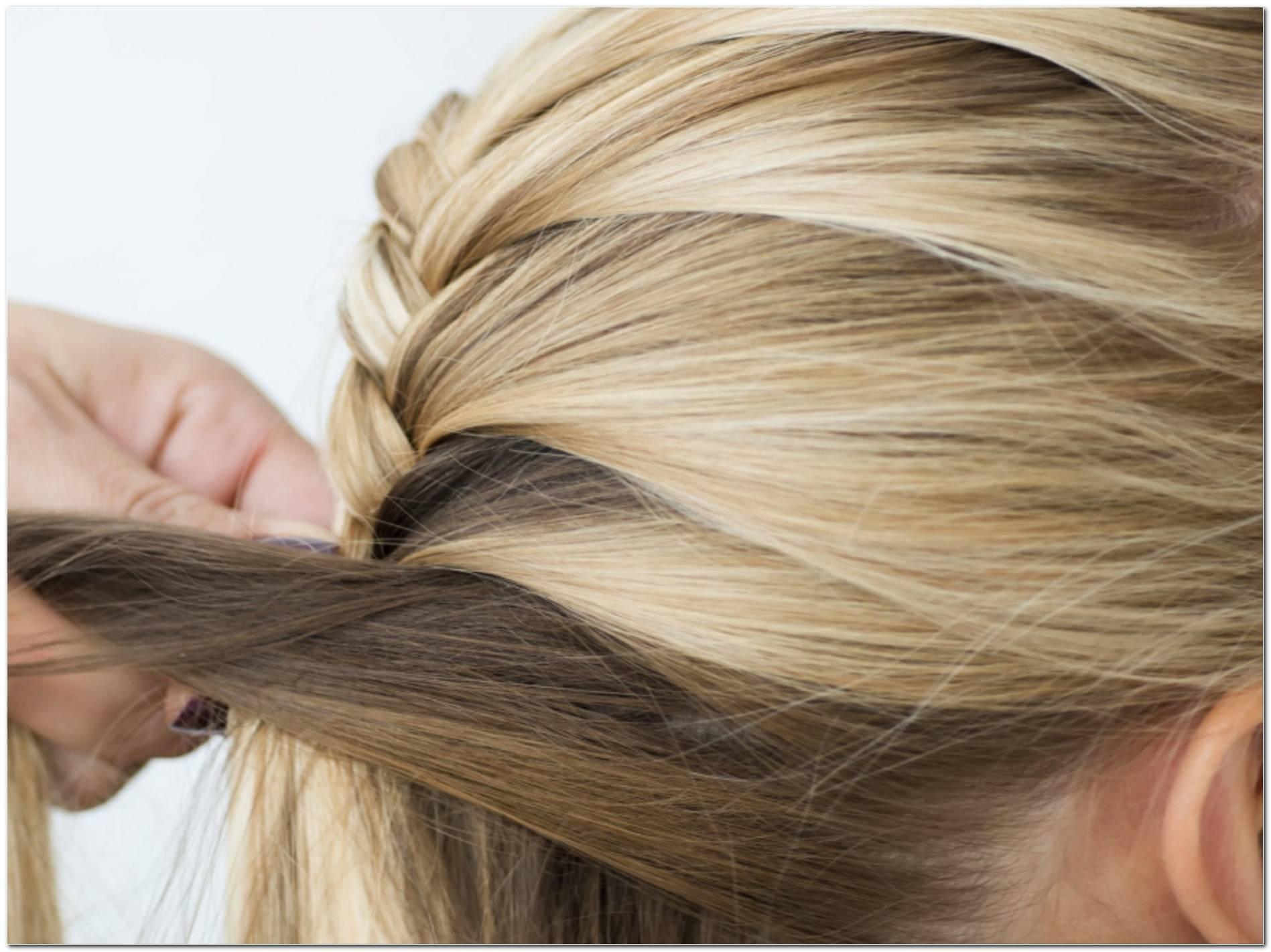 Einfache Frisuren Lange Haare Flechten