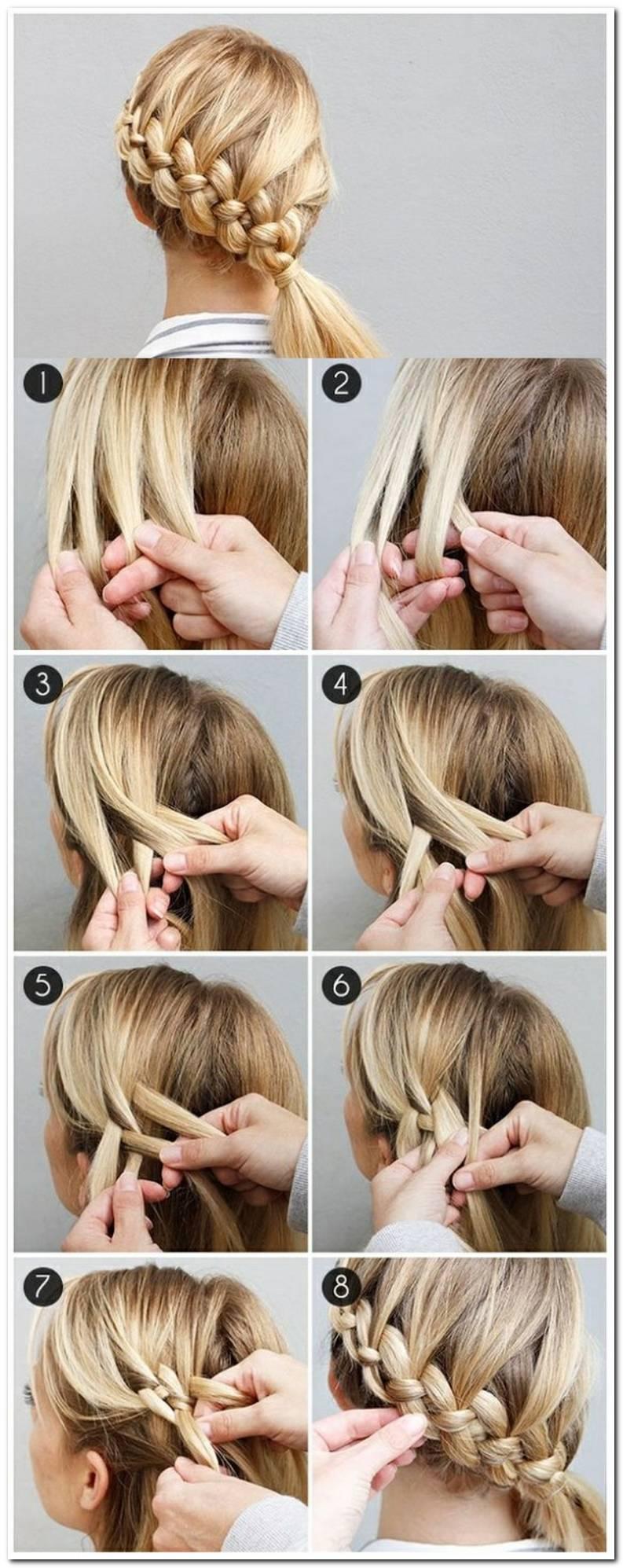 Einfache Frisuren Mit Anleitung