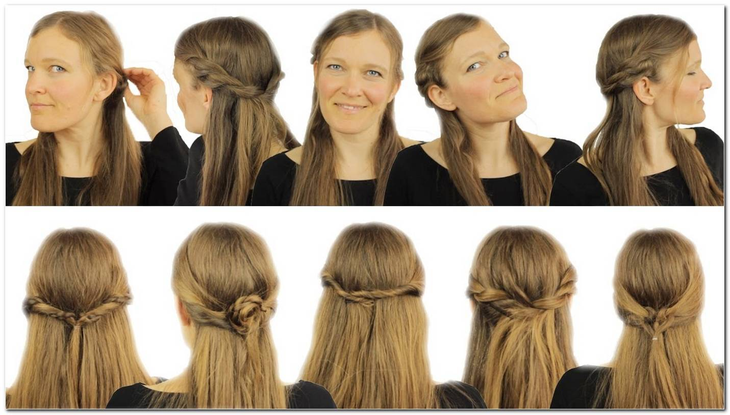 Einfache Frisuren Mit Offenen Haaren