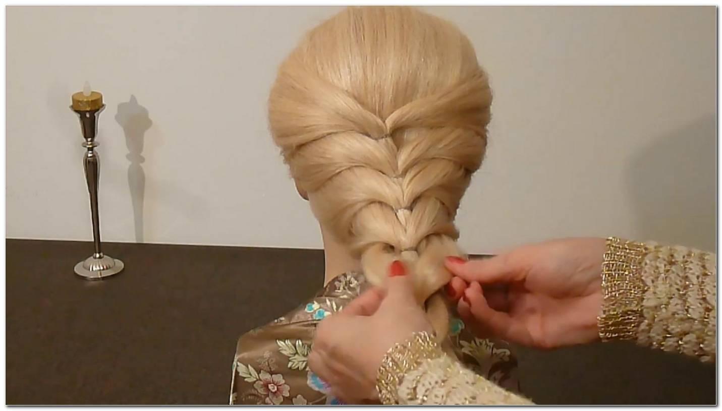 Einfache Frisuren Nur Mit Haargummi