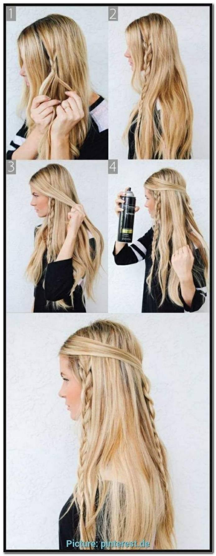 Einfache Frisuren Selber Machen Lange Haare