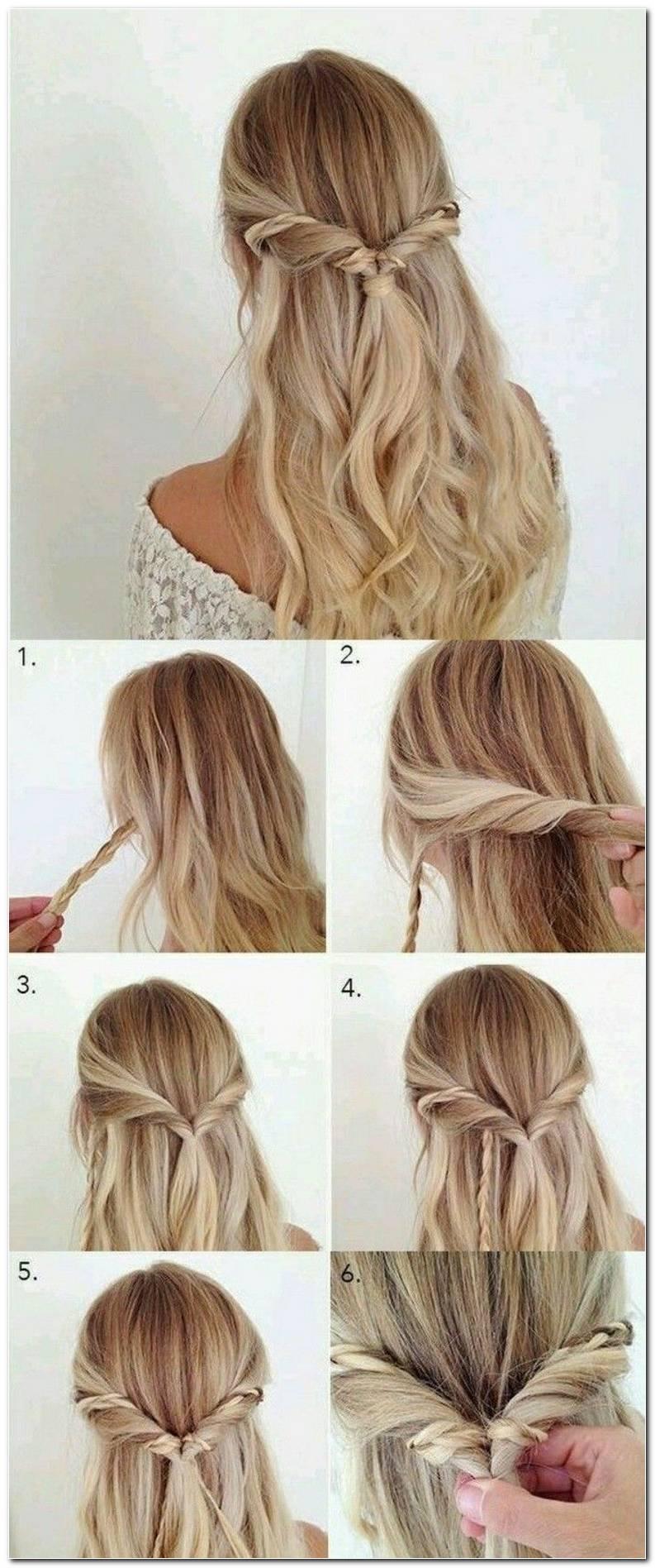 Einfache Frisuren Selber Machen