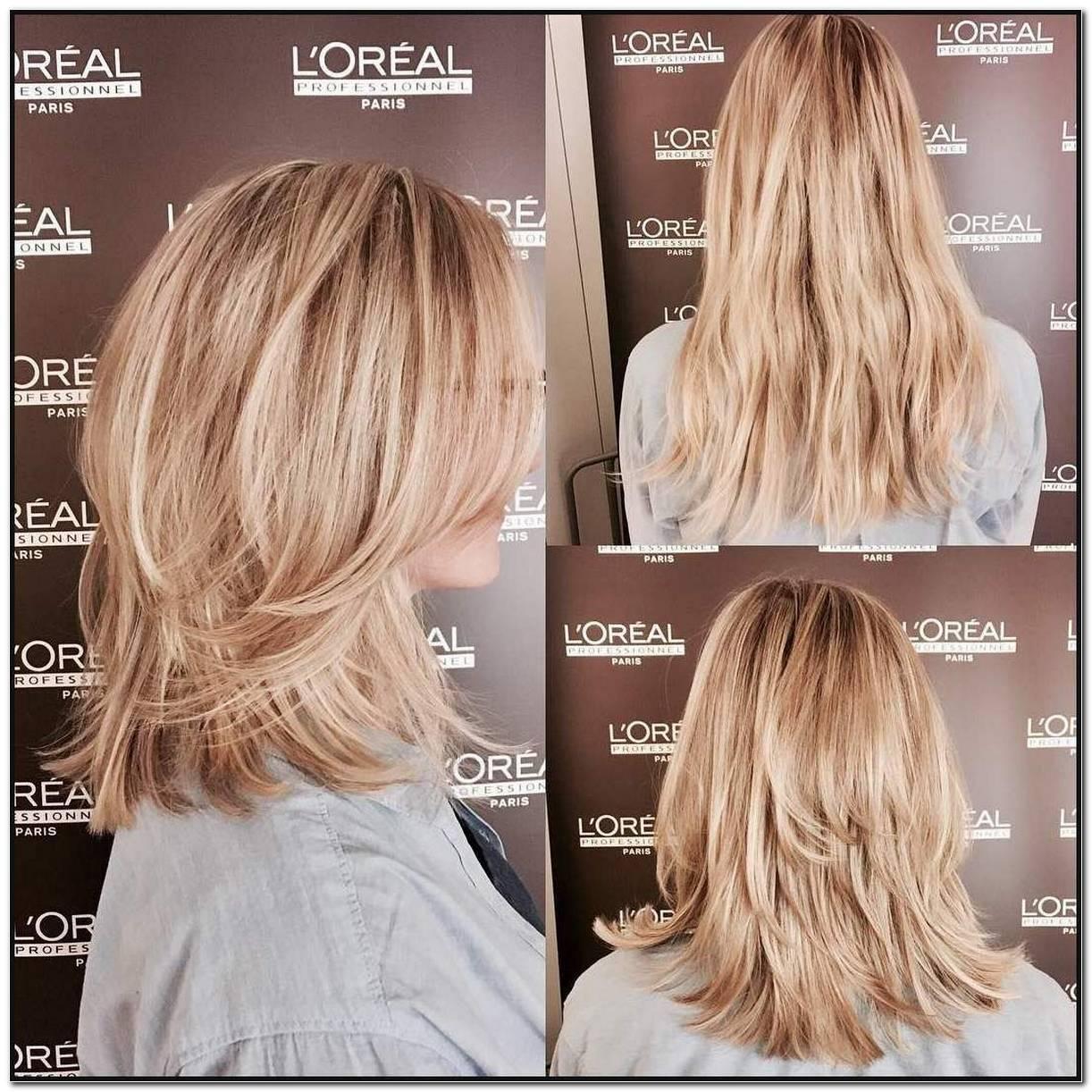 Einfache Frisuren Stufenschnitt