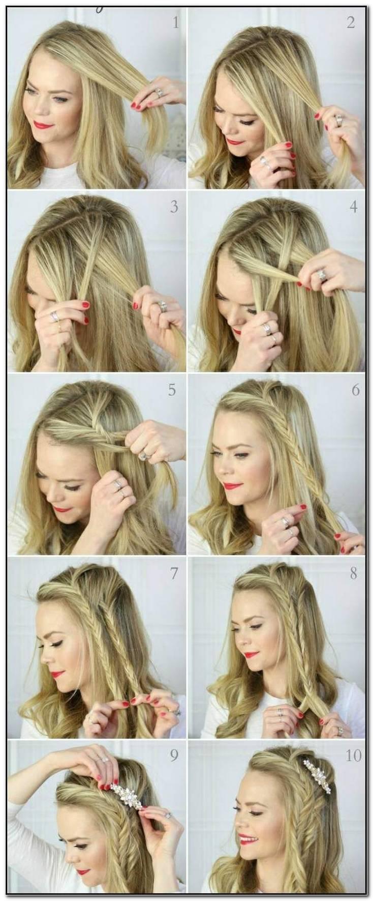 Einfache Frisuren Zum Dirndl