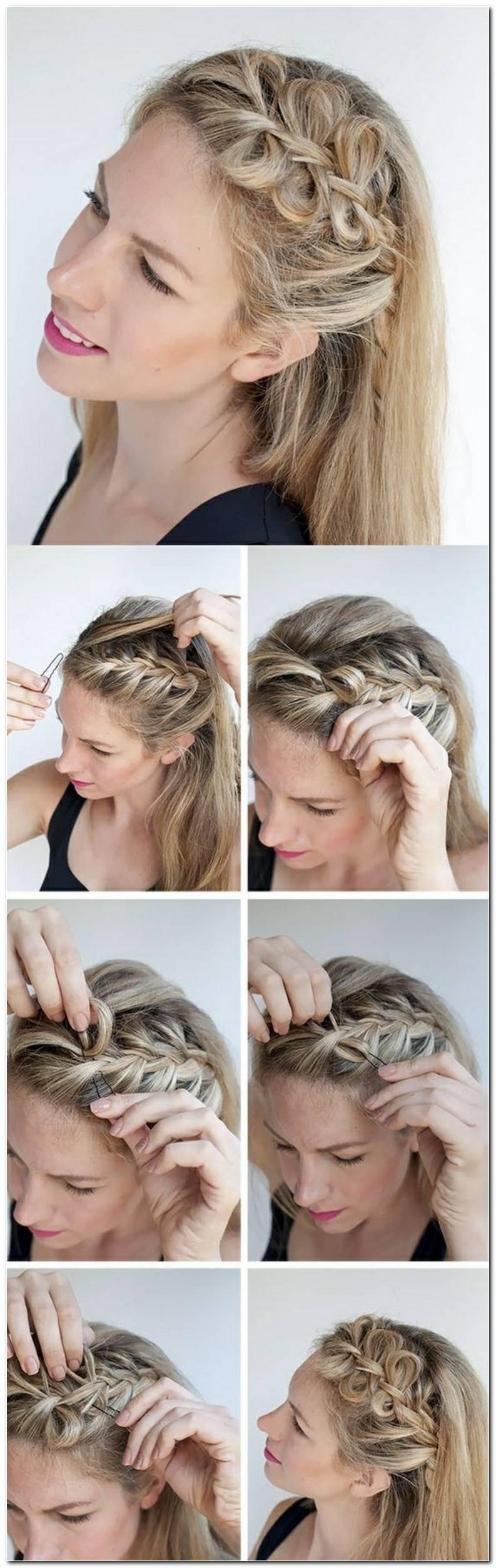 Einfache Frisuren Zum Flechten