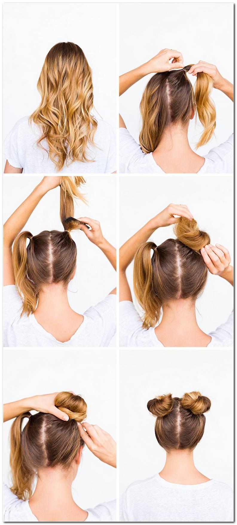 Einfache Frisuren Zum Hochstecken