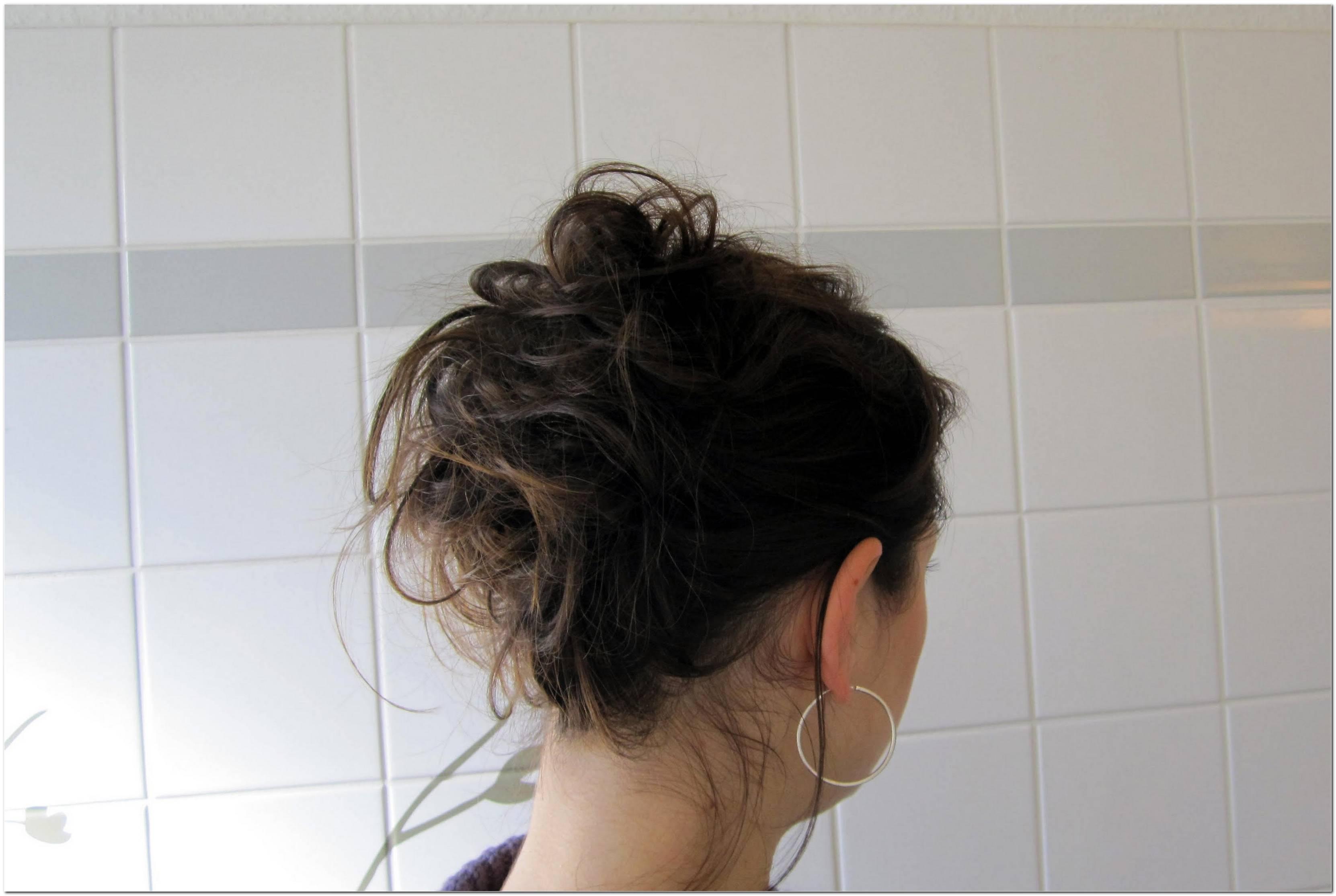 Einfache Hochsteckfrisuren F%C3%BCR Lange Lockige Haare