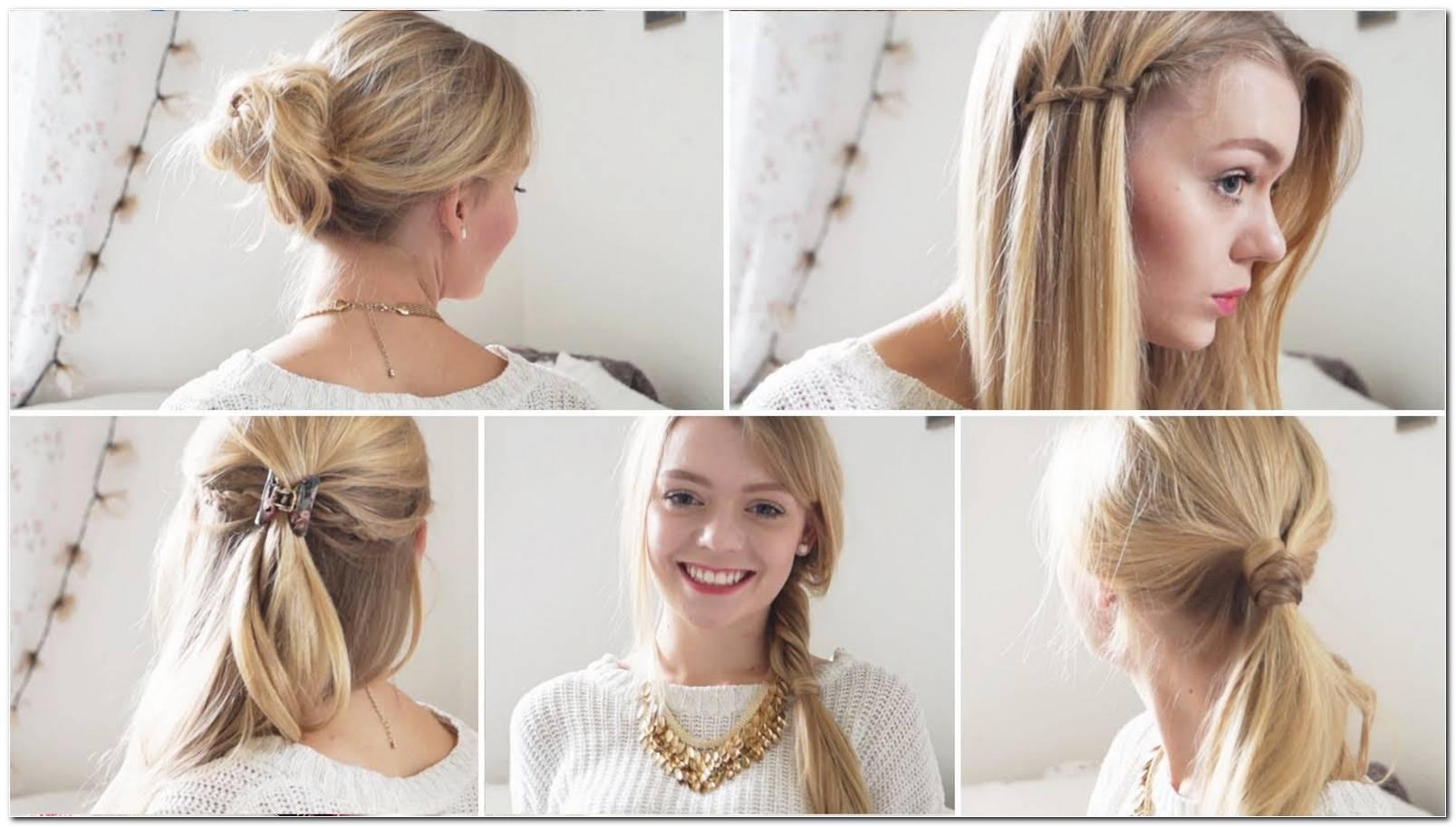 Einfache SchöNe Frisuren FüR Schulterlanges Haar