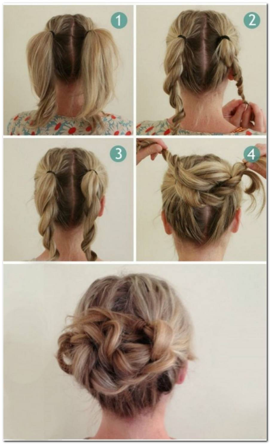 Einfache Schnelle Frisuren FüR Kurze Haare