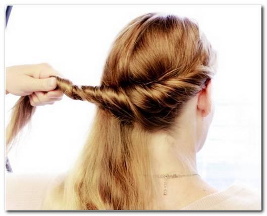 Einfache Schnelle Frisuren Lange Haare