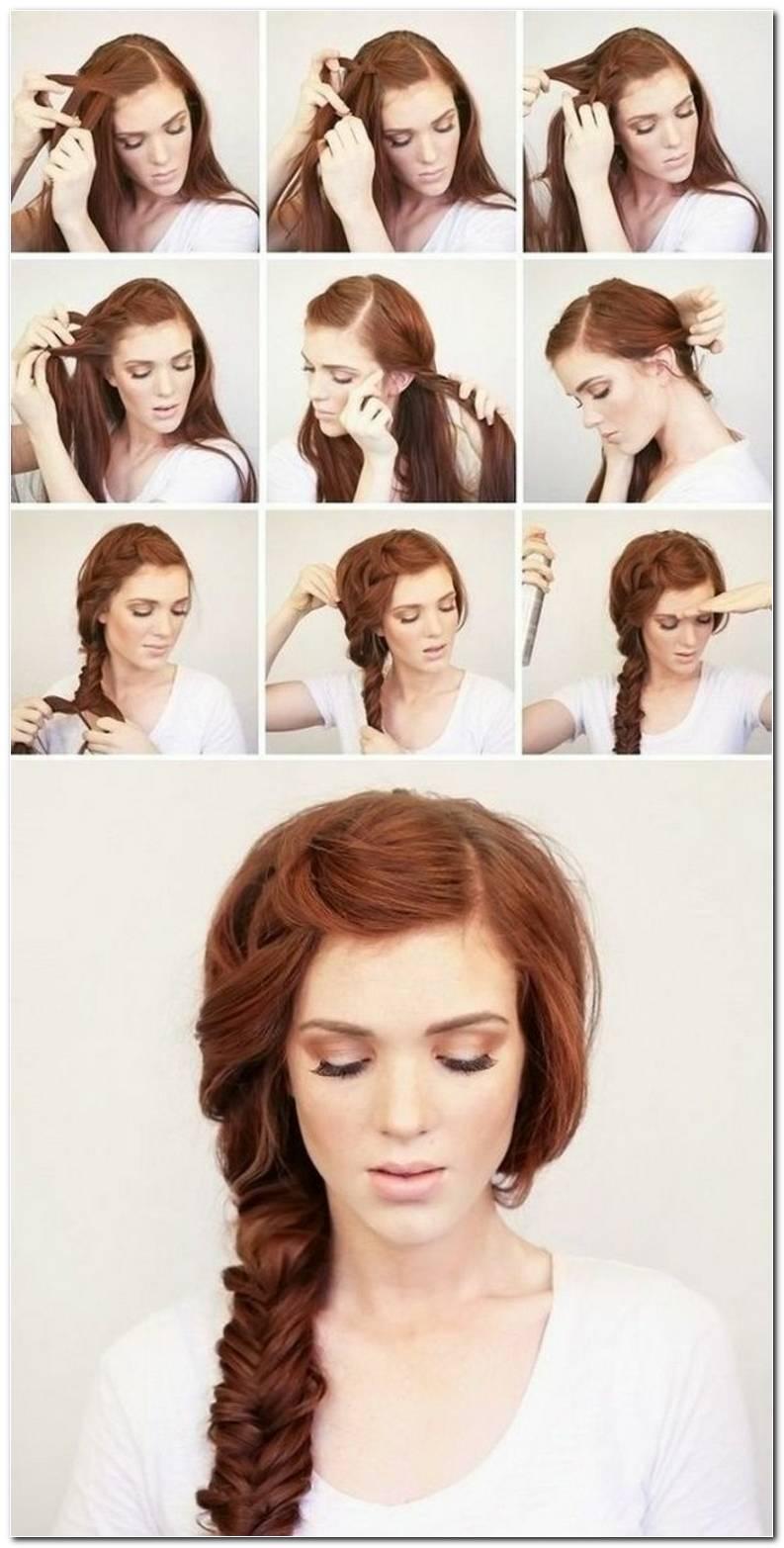 Einfache Schnelle Frisuren Zum Selber Machen