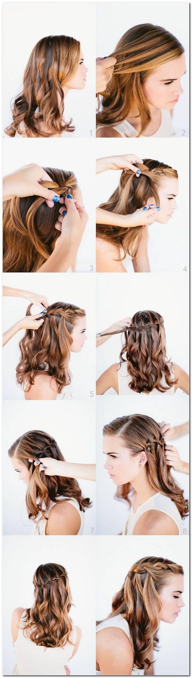 Einfache Wiesn Frisuren Selber Machen