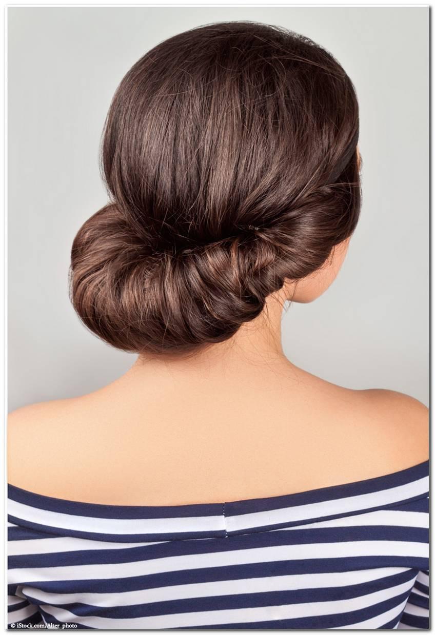Eingedrehte Frisur Ohne Haarband