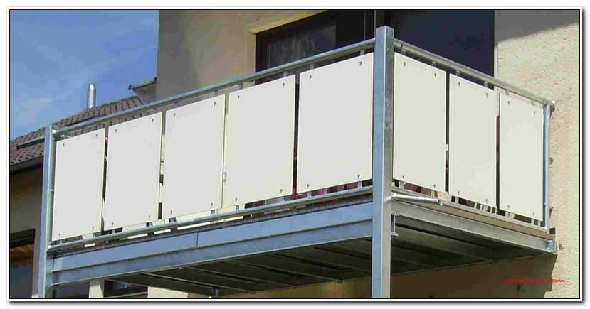 Elegant Balkonverkleidung Kunststoff Obi