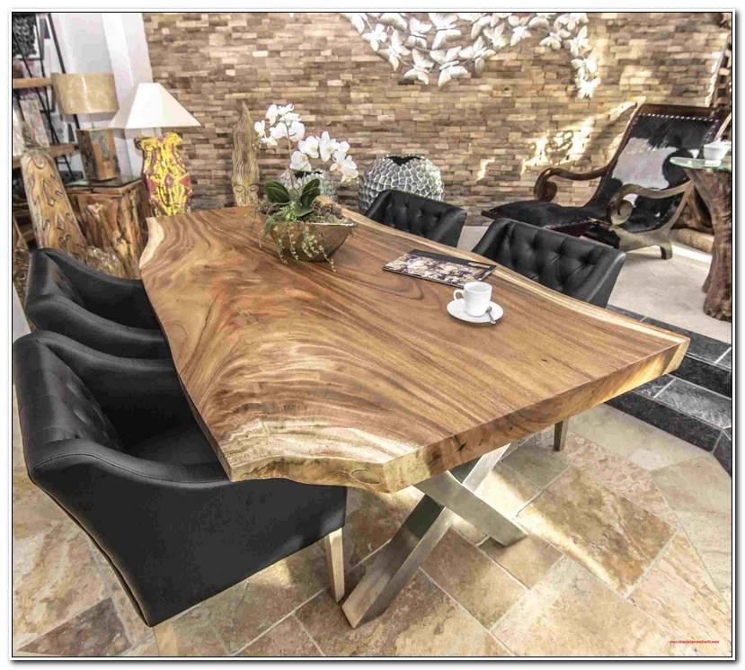 Elegant Baumscheibe Tischplatte