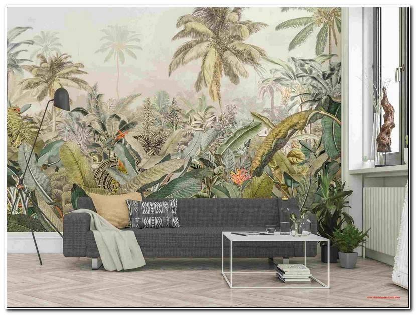 Elegant Fototapete Wald Schlafzimmer