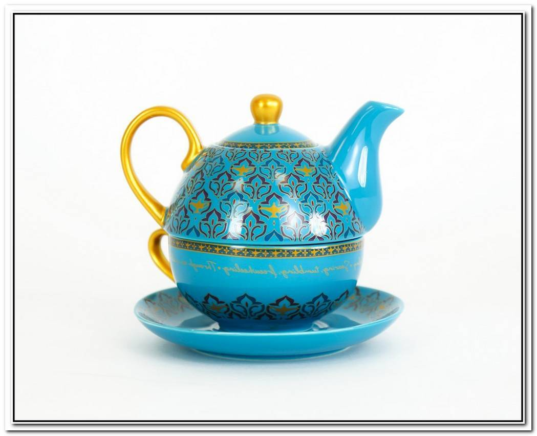 Elegant Genie Teapot By Matilda