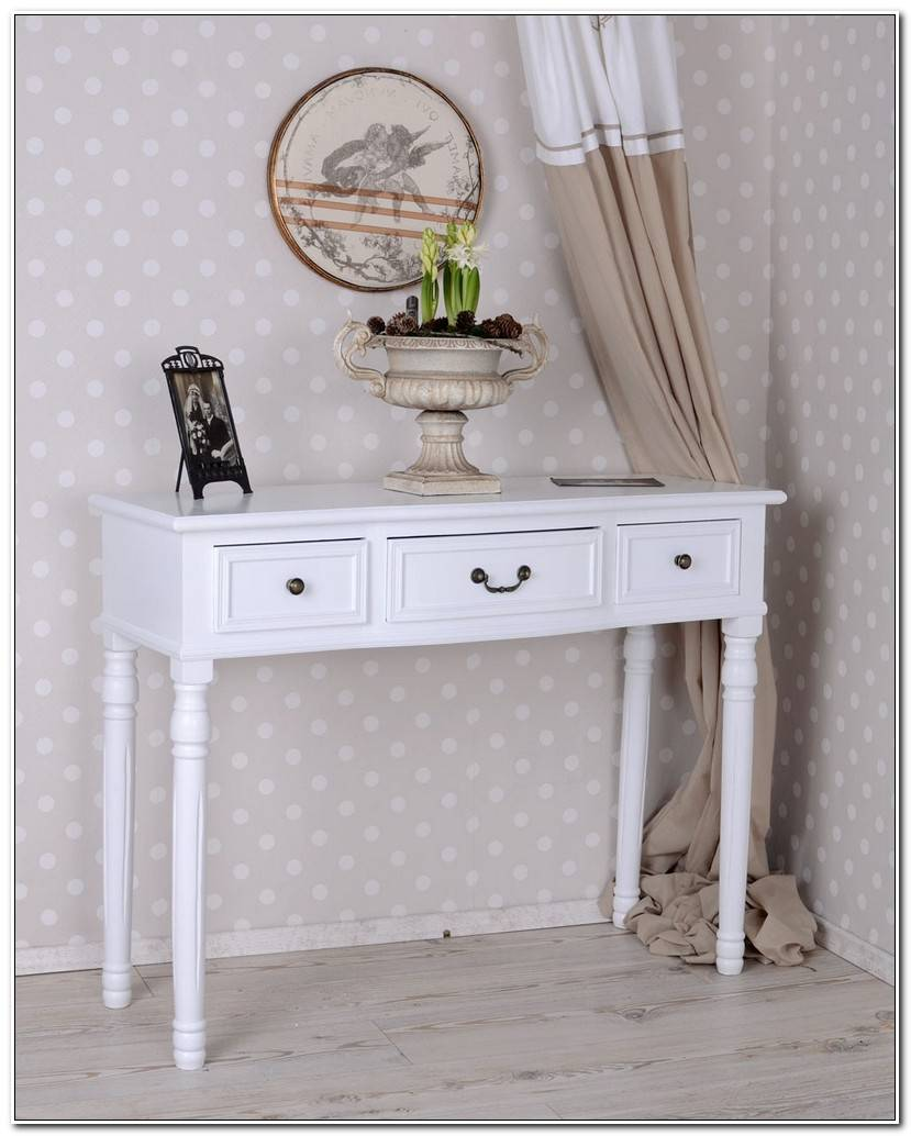 Elegant Konsole Weiß