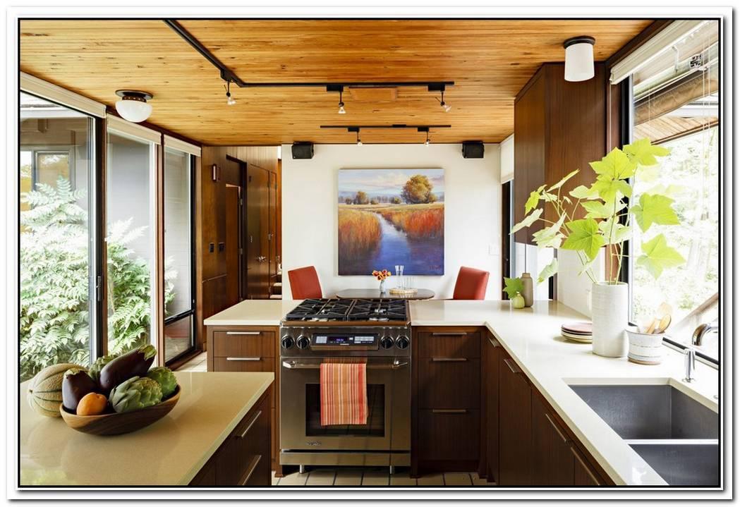 Elegant Midcentury Modern Kitchen Interior Design Ideas