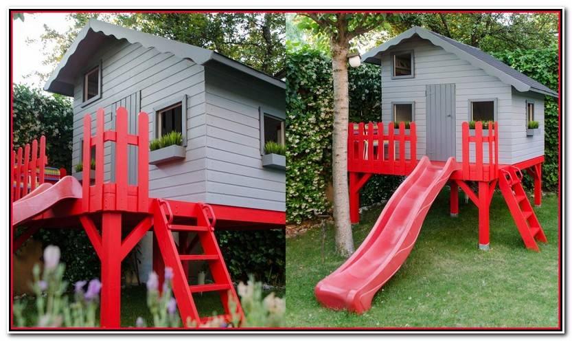 Elegante Casita Infantil Jardin Galería De Jardín Ideas
