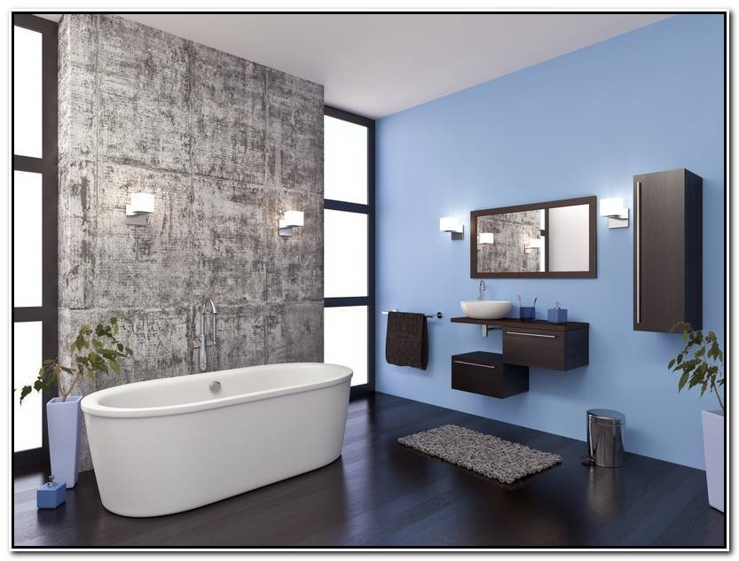 Elegante Decoración Baños Modernos Fotos Imagen De Baños Decorativo