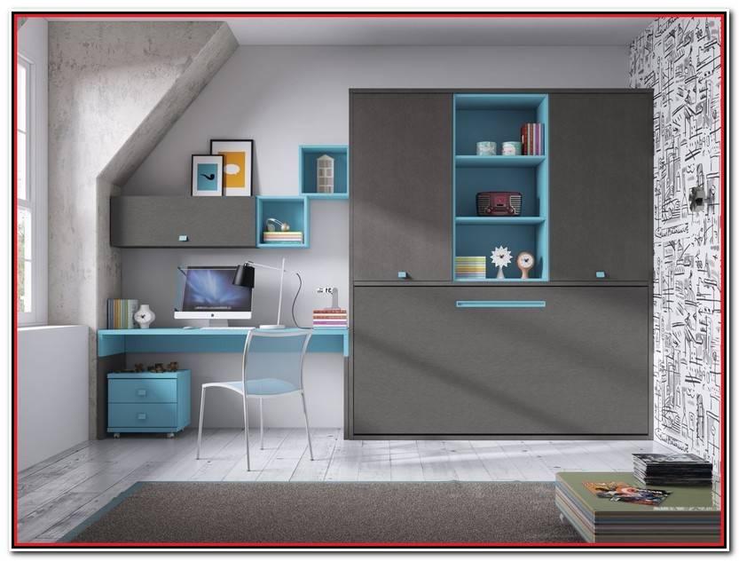 Elegante Dormitorios Juveniles Camas Abatibles Fotos De Cama Decoración