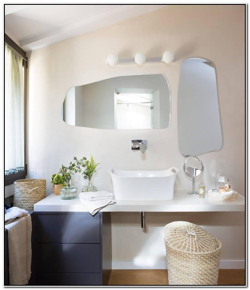 Elegante Espejos Para Cuartos De Baño Fotos De Baños Decoración