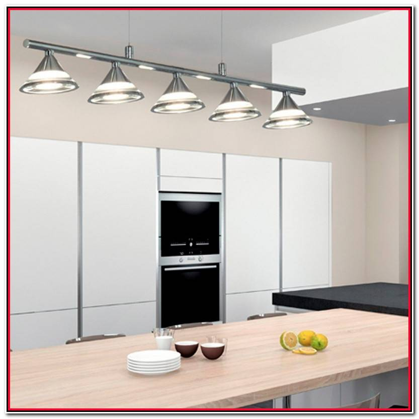 Elegante Fluorescente Led Cocina Fotos De Cocinas Decoración