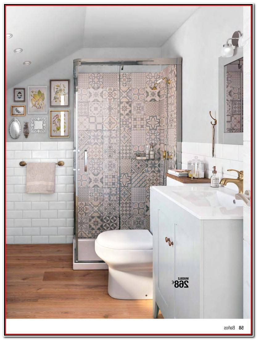 Elegante Grifos De Baño Imagen De Baños Decorativo