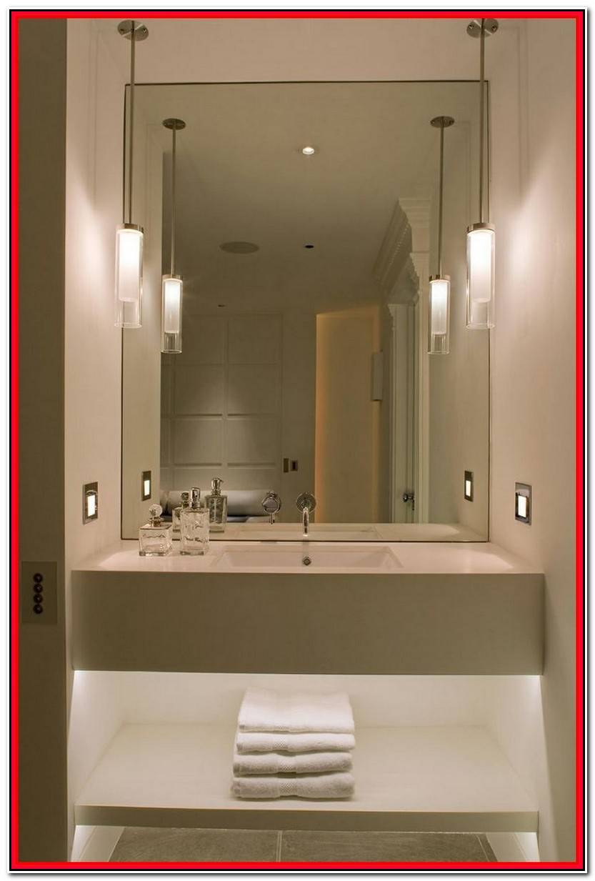 Elegante Iluminacion Espejo Baño Galería De Baños Ideas