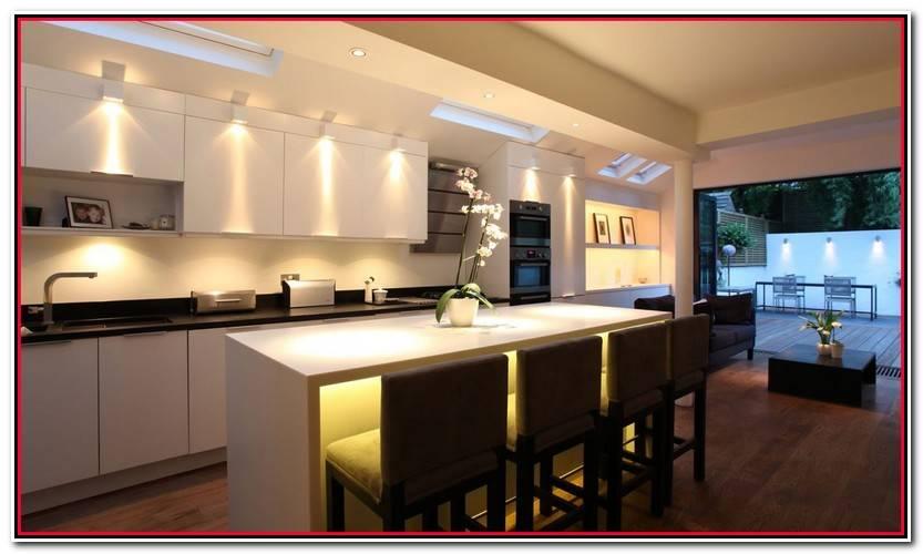 Elegante Luces Cocina Galería De Cocinas Idea