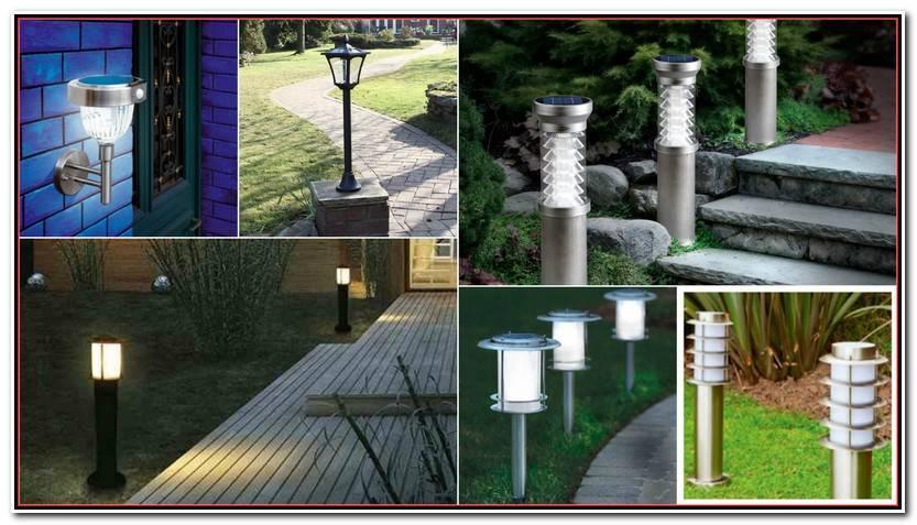 Elegante Luz Solar Jardin Imagen De Jardín Decoración
