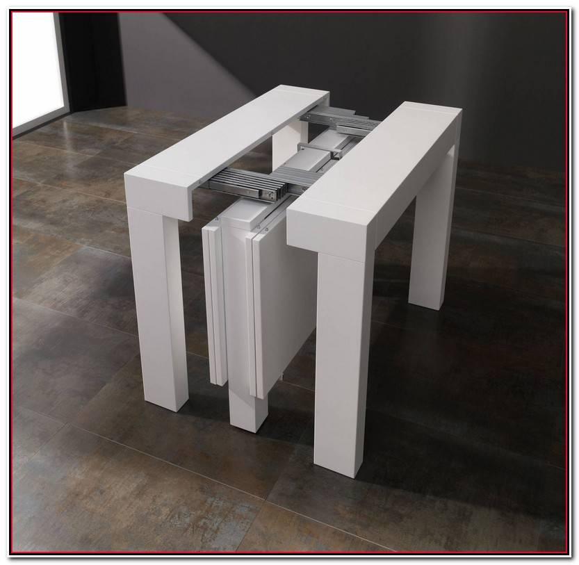 Elegante Mesa Consola Extensible Wengue Fotos De Mesas Ideas