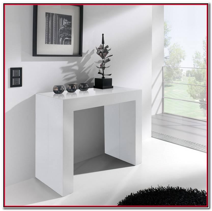 Elegante Mesa Consola Plegable Colección De Mesas Idea