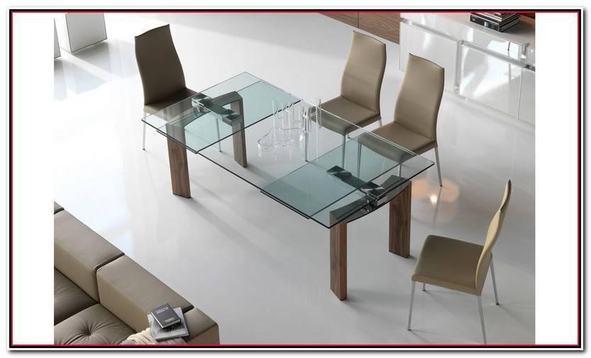 Elegante Mesas De Cristal Extensibles Galería De Mesas Idea