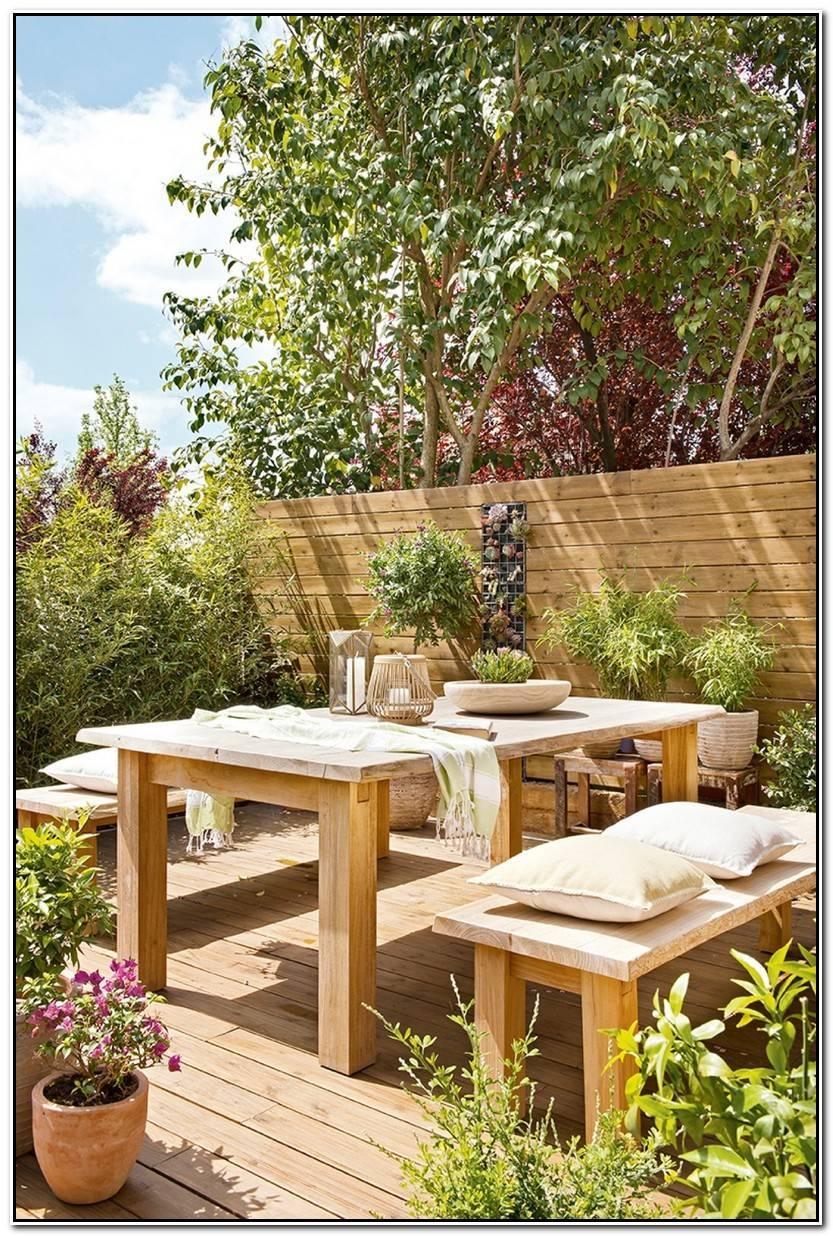 Elegante Mobiliario De Jardín Fotos De Jardín Decorativo