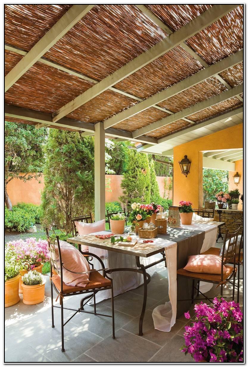 Elegante Mobiliario De Jardín Galería De Jardín Decoración