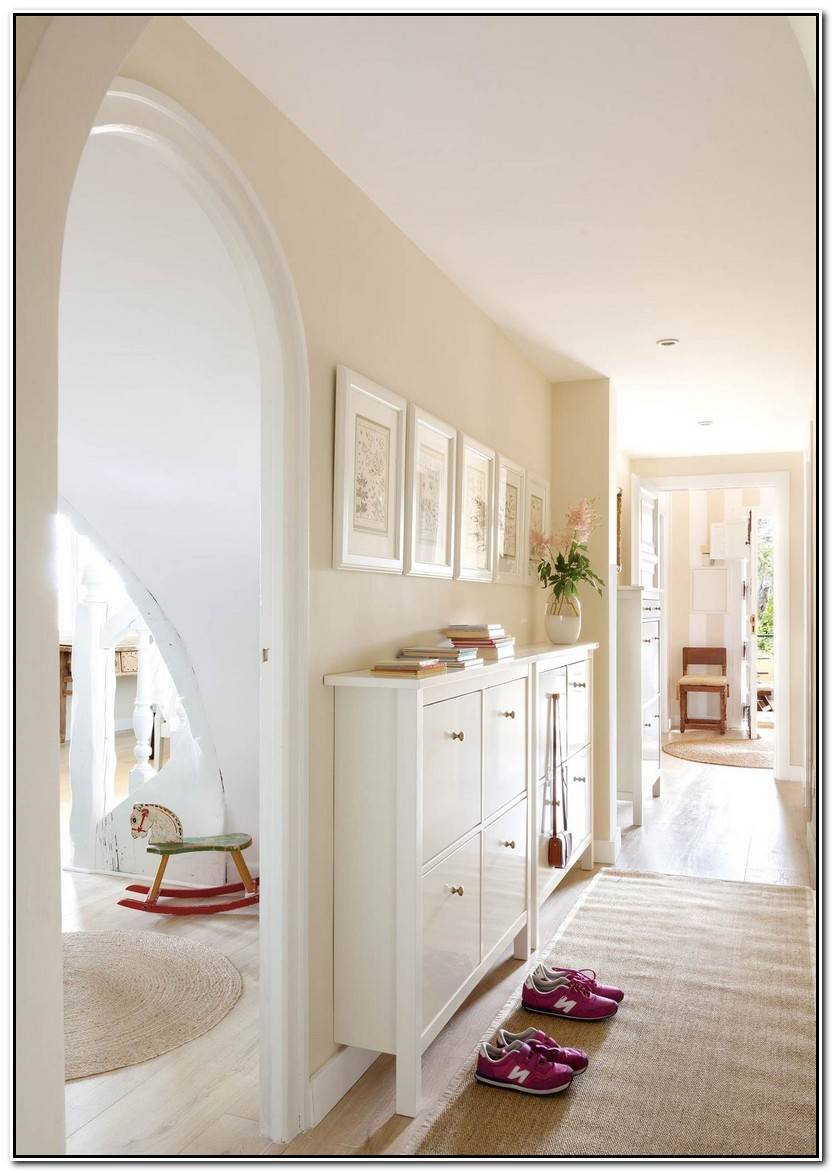 Elegante Muebles De Entrada Imagen De Muebles Decoración