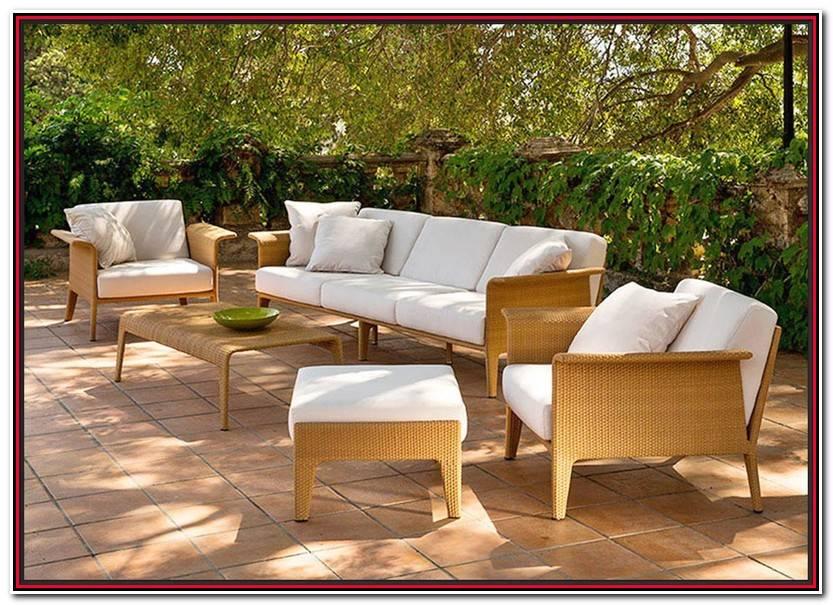 Elegante Muebles De Jardín De Segunda Mano Imagen De Jardín Estilo