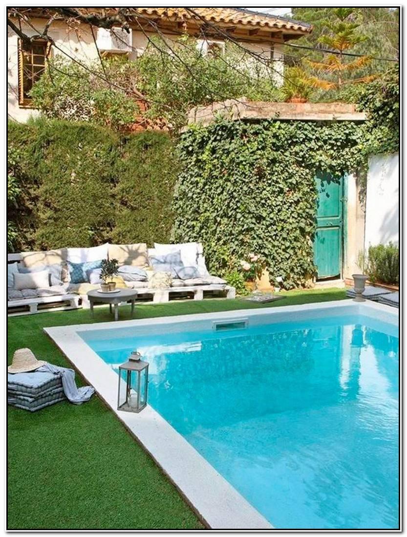 Elegante Piscinas Y Jardines Imagen De Jardín Idea