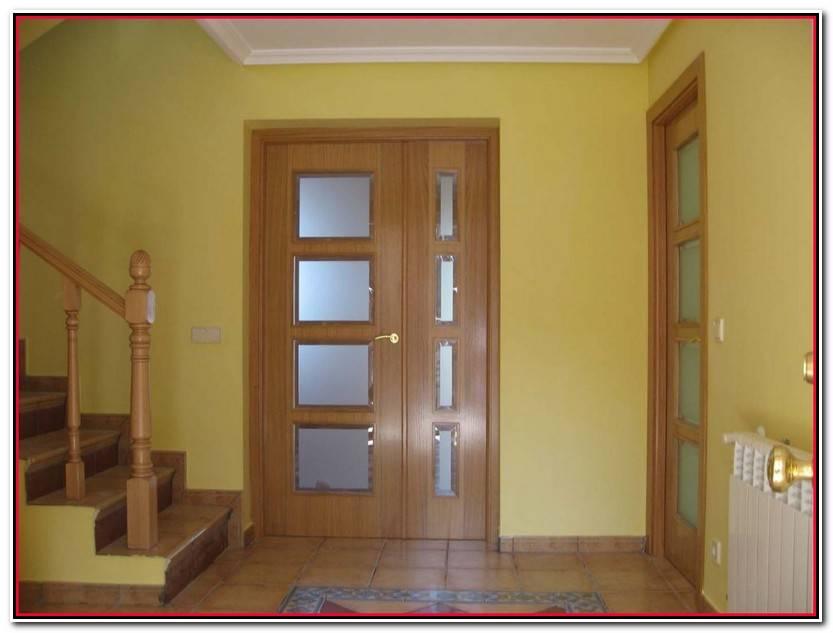Elegante Puertas De Salon Con Cristal Fotos De Salon Decoración